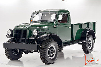 1948 Dodge Power Wagon 1948 Power Wagon Fully Restored/ Documented!!