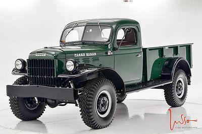 1948 Dodge Power Wagon 1948 Power Wagon Fully Restored/ Documented!!
