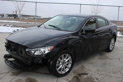 2016 Mazda Mazda6 i Sport 2016 Mazda Mazda6 i Sport Damaged Salvage Economical Perfect Project Must See!