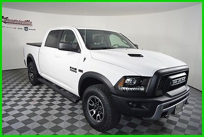 2016 Ram 1500 Rebel 4x4 V8 HEMI Crew Cab Truck Heated Seats 2016 Ram 1500 4WD Crew Cab Truck Backup Camera Cloth Seats Towing Package