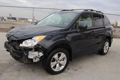 2016 Subaru Forester 2.5i Premium 2016 Subaru Forester 2.5i Premium Damaged Clean Title Only 13K Miles Economical!