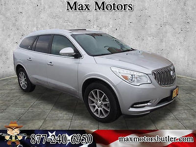 2016 Buick Enclave Leather 2016 Buick Enclave Leather 17952 Miles Quicksilver Metallic SUV 3.6L V6 Automati