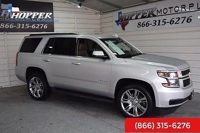 2016 Chevrolet Tahoe LS LEATHER ++ 2016 Chevrolet Tahoe LS LEATHER ++ 15563 Miles Silver Ice Metallic SUV 8 Automat