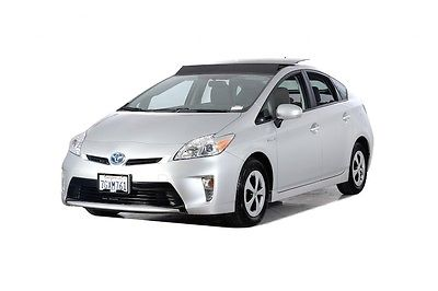 2014 Toyota Prius Three 2014 Toyota Prius Three 49007 Miles Silver 5D Hatchback 1.8L 4-Cylinder DOHC 16V