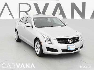 2013 Cadillac ATS ATS 2.0T ilver 2013 ATS with 32925 Miles for sale at Carvana
