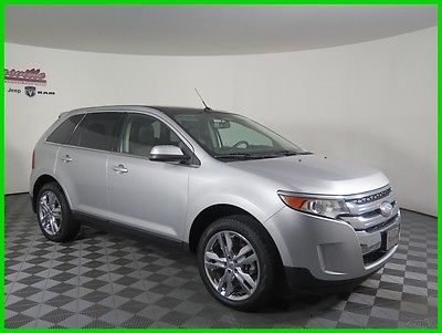 2012 Ford Edge Limited AWD V6 SUV Navigation Panoramic Sunroof 60839 Miles 2012 Ford Edge AWD SUV Leather Seats Backup Camera AUX USB Bluetooth