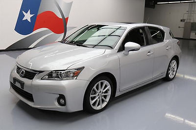 2012 Lexus CT 200h Base Hatchback 4-Door 2012 LEXUS CT200H PREMIUM HYBRID SUNROOF HTD SEATS 42K #092518 Texas Direct Auto