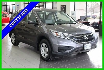 2016 Honda CR-V LX 2016 LX Used Certified 2.4L I4 16V Automatic FWD SUV