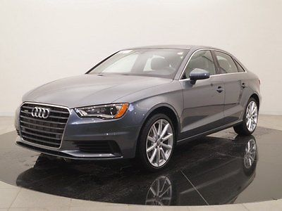 2016 Audi A3 2.0 TFSI Premium Plus quattro 2016 Audi A3, Gray with 5188 Miles available now!
