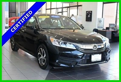 2016 Honda Accord LX 2016 LX Used Certified 2.4L I4 16V Automatic FWD Sedan