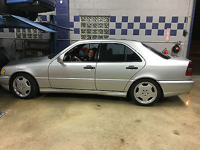 1999 Mercedes-Benz C-Class 1999 Mercedes Benz C55-C43 202