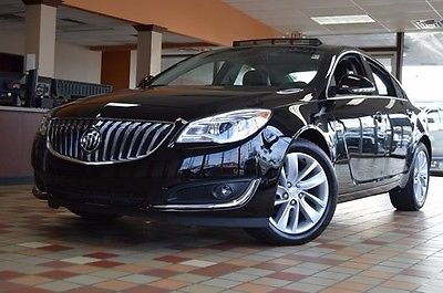 2015 Buick Regal Turbo 2015 Buick Regal Turbo 31606 Miles Black Onyx 4D Sedan 2.0L 4-Cylinder DGI DOHC