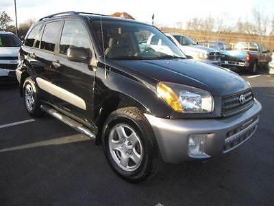 2002 Toyota RAV4 Base 4WD 4dr SUV 2002 Toyota RAV4 Base 4WD 4dr SUV 2.0L I4 Automatic 4-Speed Black