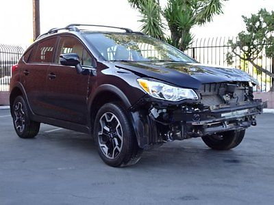 2016 Subaru XV Crosstrek 2.0i Limited 2016 Subaru Crosstrek 2.0i Limited Damaged Rebuilder Only 14K Miles Gas Saver!!