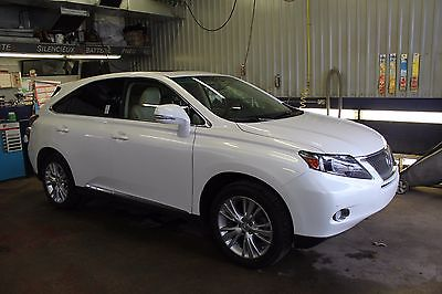 lexus RX450H - 35 000 km certified - one owner - no accident - mint condition