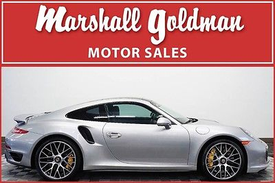2015 Porsche 911 2015 Porsche 911 Turbo S GT silver with Espresso PDK, loaded up car 6100 miles