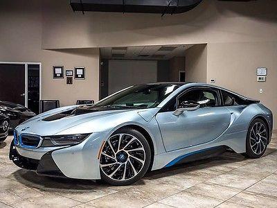 2014 BMW i8 Base Coupe 2-Door 2014 BMW i8 Tera World Coupe $139k+MSRP Only 12k Miles! Harman/Kardon! Stunning!
