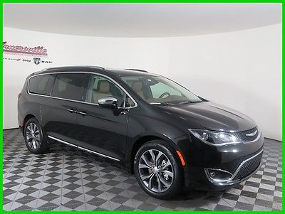2017 Chrysler Pacifica Limited FWD V6 Van Heated Leather Seats Navigation 2017 Chrysler Pacifica FWD Van DVD Player Backup Camera Remote Start UConnect