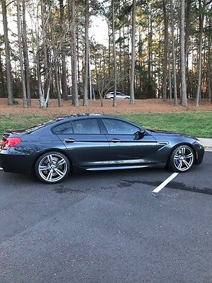 2014 BMW M6 - Gran Coupe   2014 BMW M6 Gran Coupe Base Sedan 4-Door 4.4L Singapore Grey