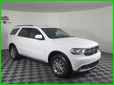 2017 Dodge Durango SXT RWD V6 SUV UConnect 8.4in Remote Keyless Entry 2017 Dodge Durango RWD SUV Cloth Seats 6 Speakers USB AUX Bluetooth Automatic