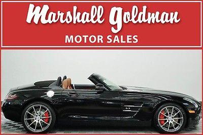 2012 Mercedes-Benz SLS AMG Base Convertible 2-Door 2012 Mercedes Benz SLS AMG Obsidian Black 6,400 miles Navigation, heated seats