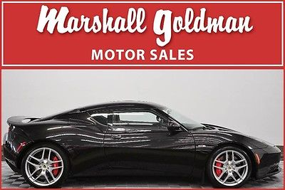 2014 Lotus Evora 2014 Lotus Evora Starlight Black over Ebony w/red piping leather only 440 miles