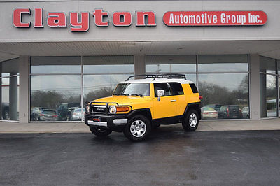 2008 Toyota FJ Cruiser 4WD 4dr Manual 2008 Toyota FJ Cruiser 4.0L V6 Manual 1 Owner Clean Carfax PKG 2 Fully Serviced!