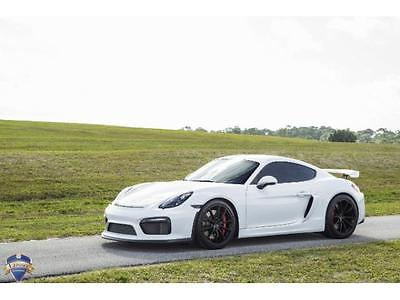 2016 Porsche Cayman GT4 Coupe 2-Door 2016 Porsche Cayman GT4 6 Speed Manual 2-Door Coupe