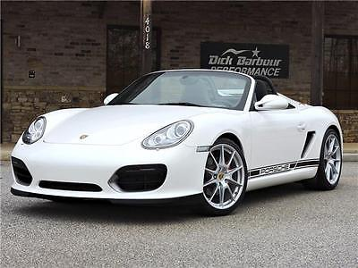 2011 Porsche Boxster Spyder 2011 Porsche Boxster Spyder 17,840 Miles Sport Seats Exhaust Upgrade White