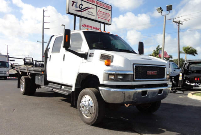2008 Gmc C4500 Flatbed Truck