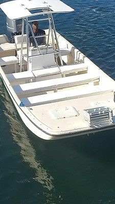 Boat 2005 Carolina Skiff / new 150 hp Yamaha 4 Stroke Engine