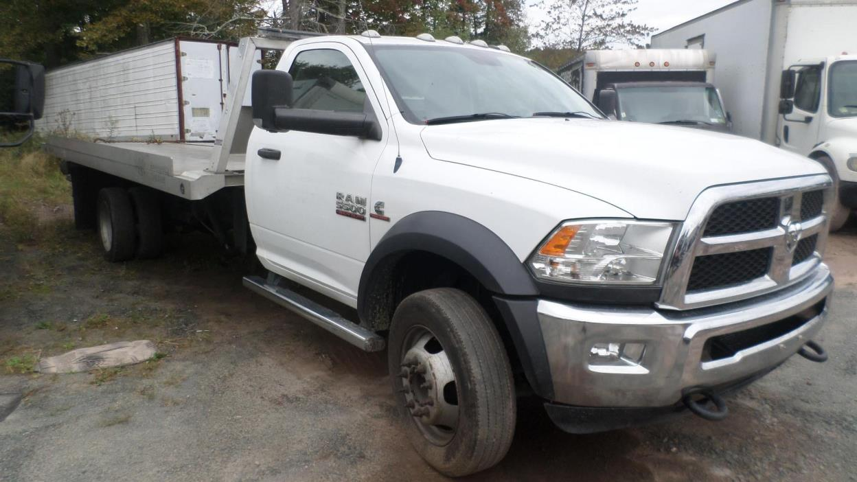 2013 Dodge Ram 5500hd  Rollback Tow Truck