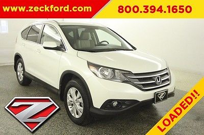 2013 Honda CR-V EX-L All Wheel Drive 2.4L AWD Moonroof Heated Leather Seats Navigation Backup Cam MP3 CD