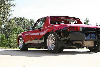 1972 Porsche 914 WIDE BODY RACE CAR 1972 PORSCHE WIDE BODY CONVERSION RACE CAR-ROLL BARS STREET LEGAL PROF BUILT