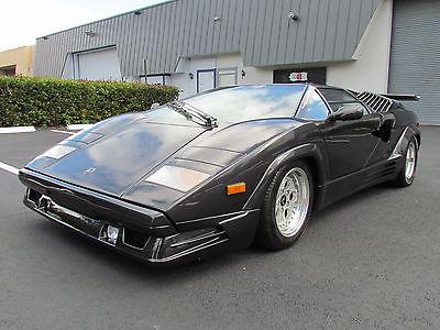 1990 Lamborghini Countach  1990 LAMBORGHINI COUNTACH 25TH ANIVERSARY