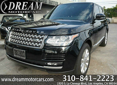 2014 Land Rover Range Rover 4WD 4dr HSE 2014 Land Rover Range Rover 4WD 4dr HSE 43415 Miles Ligurian Black Mica SUV 3.0L