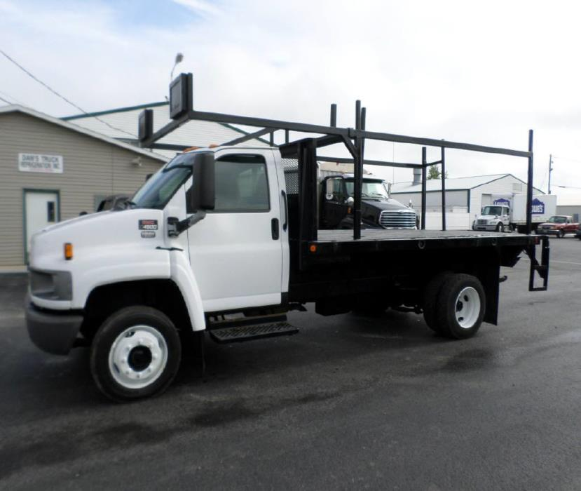 2003 Gmc C4500 Flatbed Truck