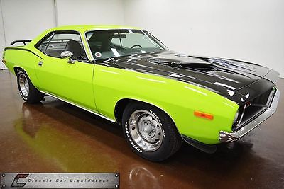 1973 Plymouth Barracuda Car 1973 plymouth cuda 340 v 8