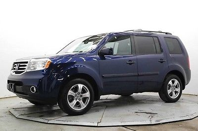 2015 Honda Pilot EX-L 4WD EX-L 4X4 3rd Row R Camera Lthr Htd Seats Pwr Moonroof 23K Must See Save