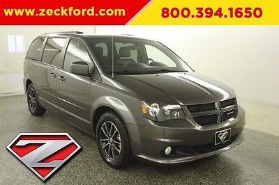 2016 Dodge Grand Caravan R/T 3.6L V6 Automatic FWD Leather Seats Backup Cam Power Liftgate Bluetooth XM