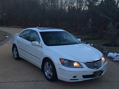 2006 Acura RL Base Sedan 4-Door 57k low mile free shipping warranty awd financing luxury clean carfax cheap