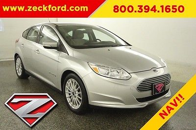 2014 Ford Focus Electric Hatchback Automatic FWD Navigation Backup Cam Bluetooth XM Radio Aluminum Wheels