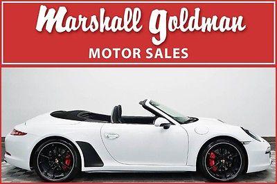 2014 Porsche 911 2014 Porsche 911 C4S cab white,black PDK, navi, sport chrono, 8700 miles
