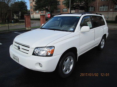 2005 Toyota Highlander Limited 2005 Toyota Highlander Limited 4wd 3rd row seat
