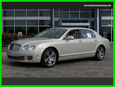 2013 Bentley Continental Flying Spur Flying Spur Sedan 4-Door 2013 Used Turbo 6L W12 48V Automatic All Wheel Drive
