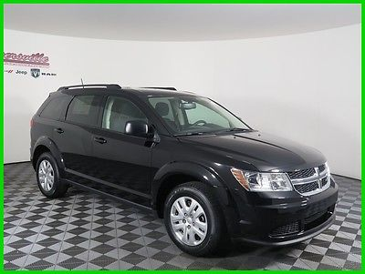 2017 Dodge Journey SE FWD I4 SUV Premium Cloth Seats Automatic 2017 Dodge Journey FWD SUV 6 Speakers Radio 4.3 Keyless Entry USB Steel Wheels