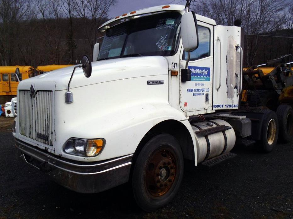 2001 International 9100 Salvage Truck