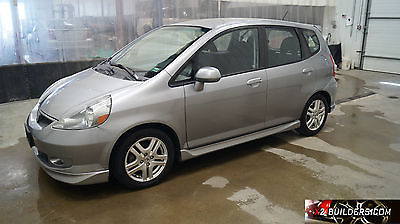 2007 Honda Fit Sport Hatchback 4-Door 2007 Honda Fit Sport, 1.5L Salvage Title, Repairable, Rebuildable #013815