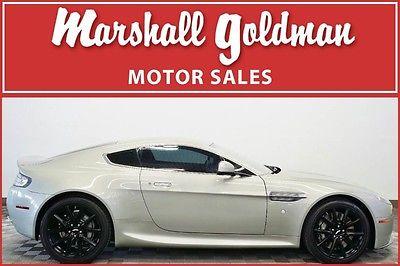 2012 Aston Martin Vantage S Hatchback 2-Door 2012 Aston Martin V8 Vantage Silver Fox Obsidian Black 12,000 miles Nav 19's