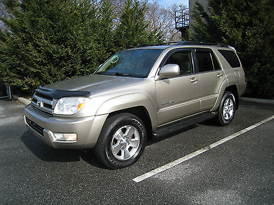 2005 Toyota 4Runner Limited 4WD 4dr SUV 2005 Toyota 4Runner Limited 4WD 4dr SUV Automatic 5-Speed 4WD V6 4.0L Gasoline